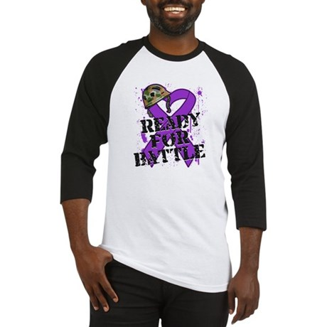 Battle Pancreatic Cancer Baseball Jersey