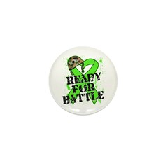 Battle Non-Hodgkins Lymphoma Mini Button
