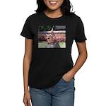 Ryukyu Shisa Women's Dark T-Shirt