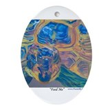 Feed Me Ornament (Oval)