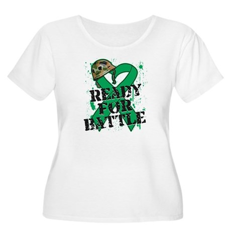 Battle Liver Cancer Women's Plus Size Scoop Neck T