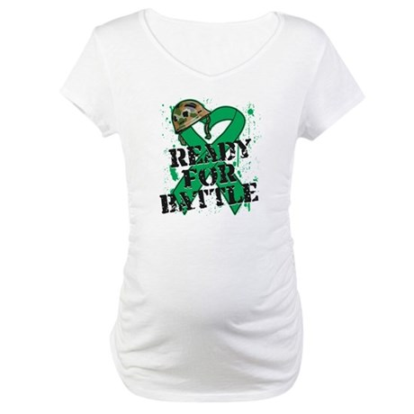 Battle Liver Cancer Maternity T-Shirt