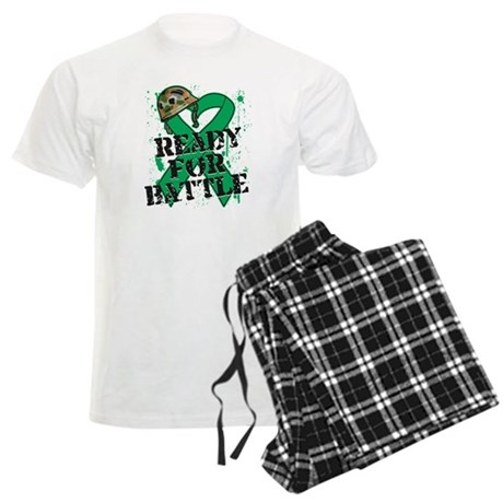 Battle Liver Cancer Men's Light Pajamas