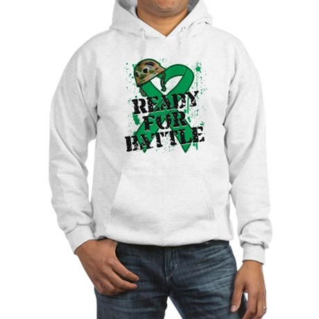 Battle Liver Cancer Hooded Sweatshirt