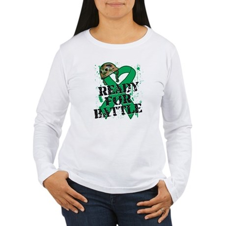 Battle Liver Cancer Women's Long Sleeve T-Shirt
