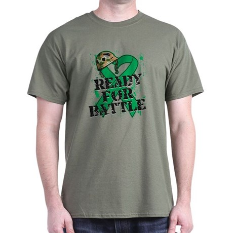 Battle Liver Cancer Dark T-Shirt