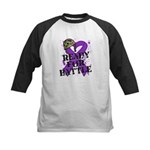 Battle Leiomyosarcoma Kids Baseball Jersey