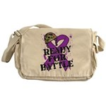 Battle Leiomyosarcoma Messenger Bag