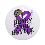 Battle Leiomyosarcoma Ornament (Round)