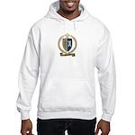 POTHIERS Family Crest Hooded Sweatshirt