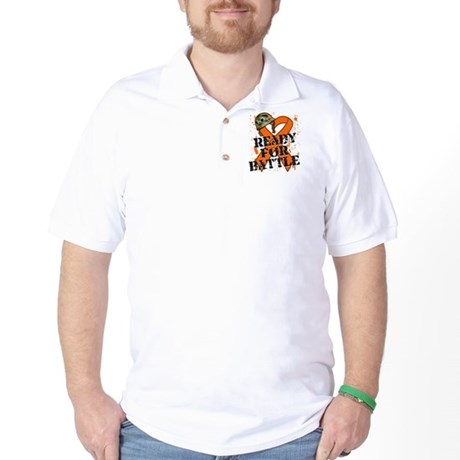 Battle Kidney Cancer Golf Shirt