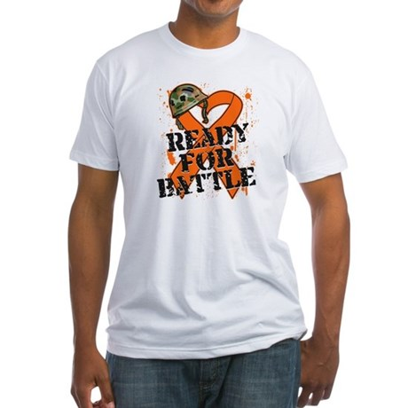 Battle Kidney Cancer Fitted T-Shirt