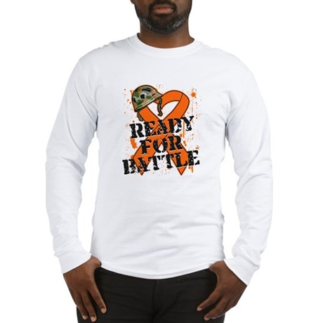 Battle Kidney Cancer Long Sleeve T-Shirt
