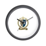 POTHIERS Family Crest Wall Clock