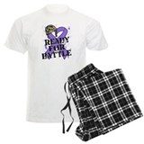 Battle Hodgkins Lymphoma pajamas