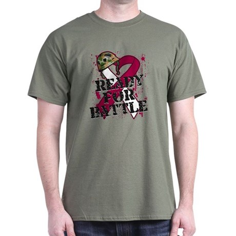 Battle Head and Neck Cancer Dark T-Shirt