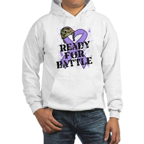 Battle General Cancer Hooded Sweatshirt