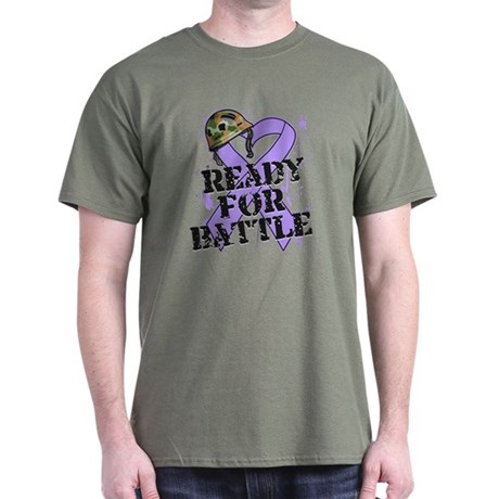 Battle General Cancer Dark T-Shirt