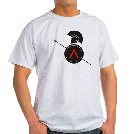 Greek Warrior Light T-Shirt