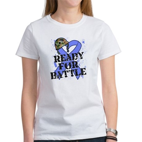 Battle Esophageal Cancer Women's T-Shirt