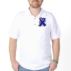 Battle Colon Cancer Golf Shirt