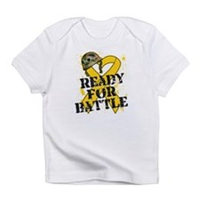 Battle Childhood Cancer Infant T-Shirt