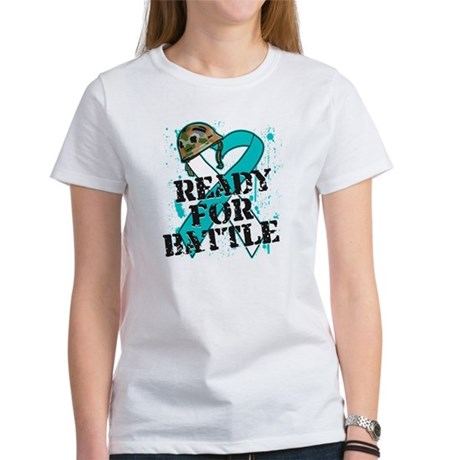 Battle Cervical Cancer Women's T-Shirt