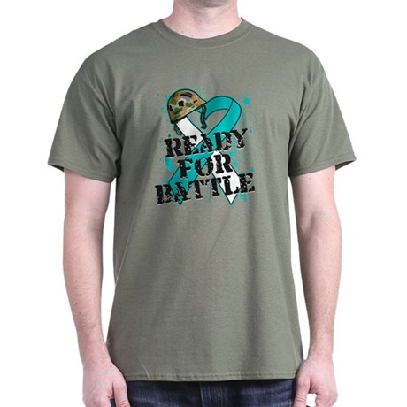 Battle Cervical Cancer Dark T-Shirt