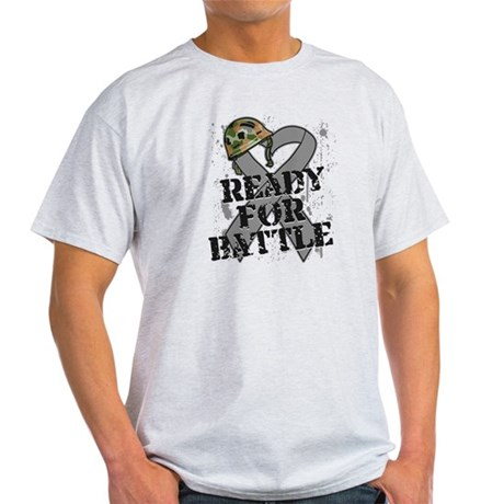 Battle Brain Cancer Light T-Shirt
