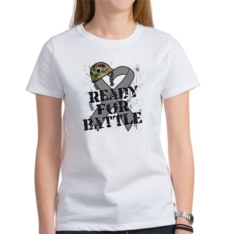 Battle Brain Cancer Women's T-Shirt