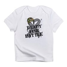 Battle Brain Cancer Infant T-Shirt