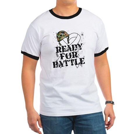 Battle Bone Cancer Ringer T