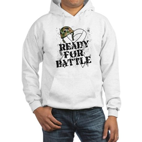 Battle Bone Cancer Hooded Sweatshirt
