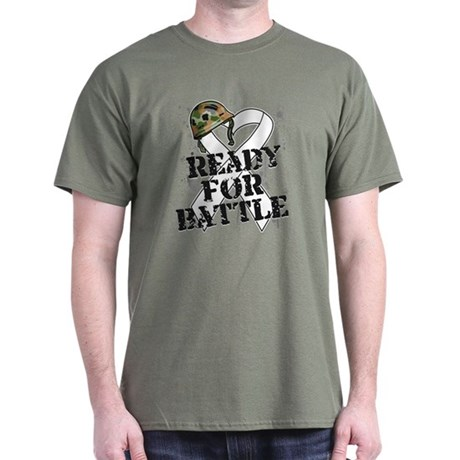 Battle Bone Cancer Dark T-Shirt