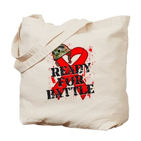 Battle Blood Cancer Tote Bag
