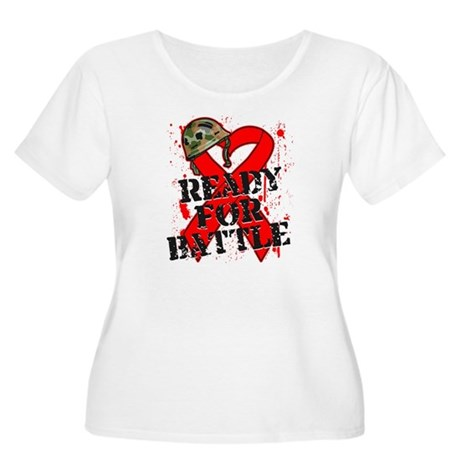 Battle Blood Cancer Women's Plus Size Scoop Neck T