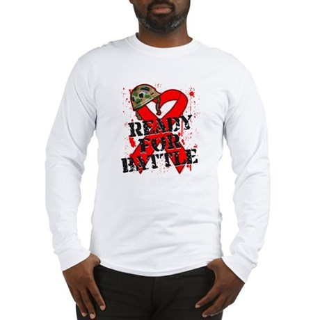 Battle Blood Cancer Long Sleeve T-Shirt