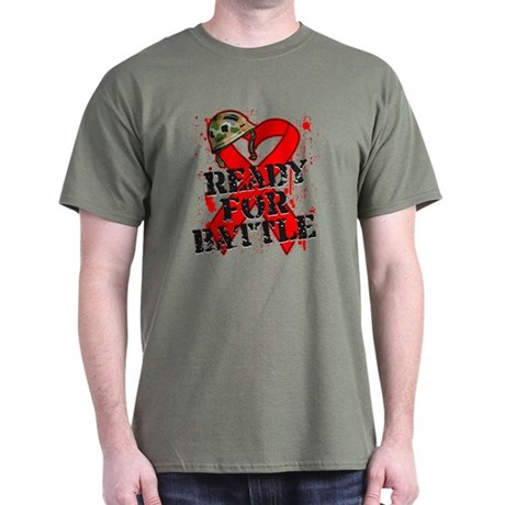 Battle Blood Cancer Dark T-Shirt