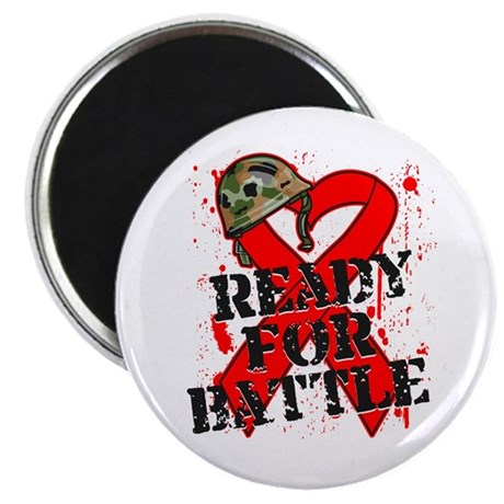 "Battle Blood Cancer 2.25"" Magnet (10 pack)"
