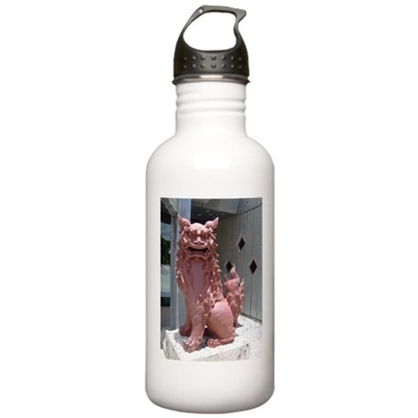 Red Shisa 2 Stainless Water Bottle 1.0L