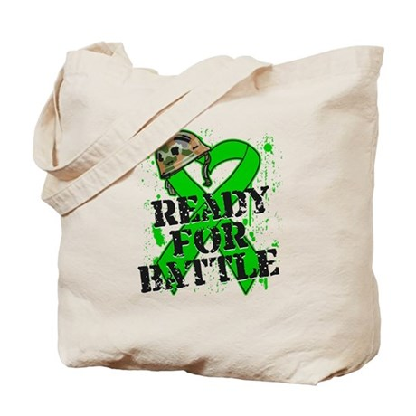 Battle Bile Duct Cancer Tote Bag