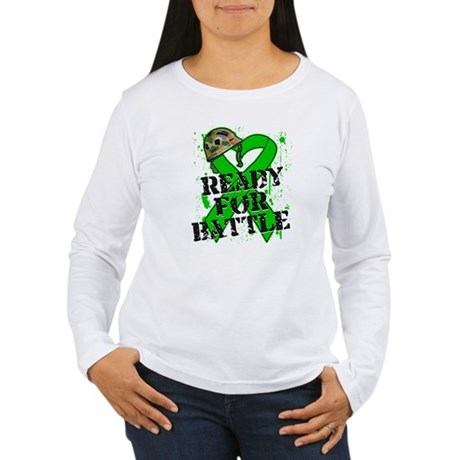 Battle Bile Duct Cancer Women's Long Sleeve T-Shir