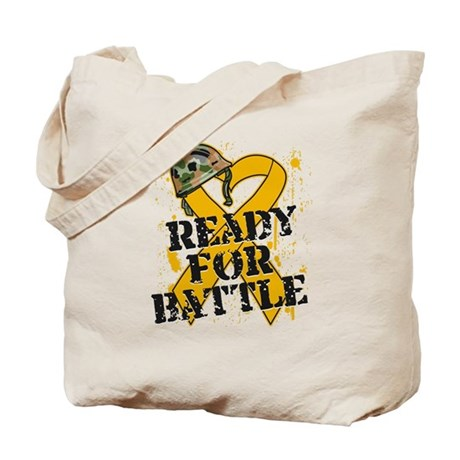 Battle Appendix Cancer Tote Bag