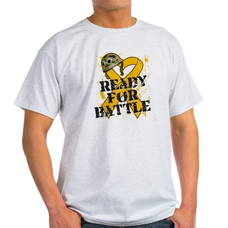 Battle Appendix Cancer Light T-Shirt