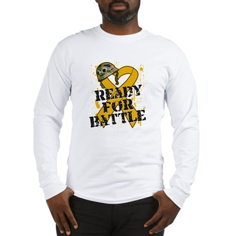 Battle Appendix Cancer Long Sleeve T-Shirt