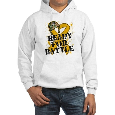Battle Appendix Cancer Hooded Sweatshirt
