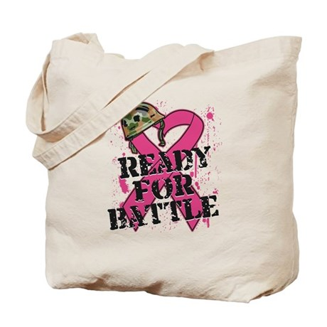 Battle Breast Cancer Tote Bag