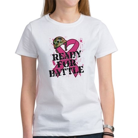 Battle Breast Cancer Women's T-Shirt
