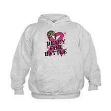 Battle Breast Cancer Hoodie