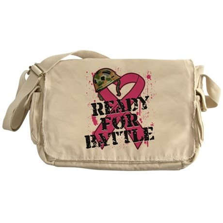 Battle Breast Cancer Messenger Bag